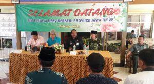 Danramil 0818/05 Kepanjen Ikut Sambut Kedatangan Tim Penilai Kampung Berseri Tingkat Provinsi