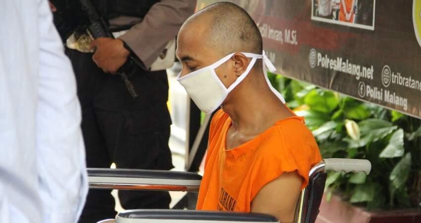 TERSANGKA: Pelaku begal dan pemerkosaan wanita pencari kerja yang bernama Dian Bambang Setyo alias Rois.