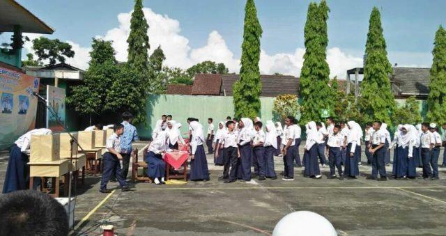 RINDU: Suasana sekolah semasa belum pandemi Covid -19. (dok)