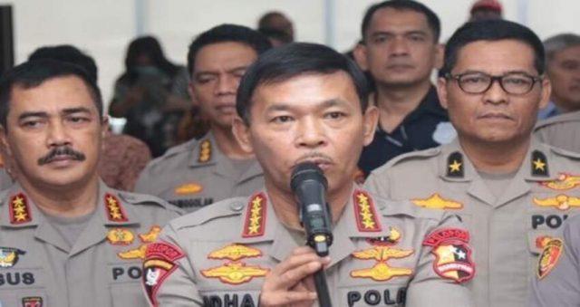 Kapolri Jenderal Idham Azis bersama Kabaharkam Komjen Pol Agus Andrianto. (dok. Polri)
