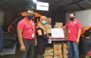 Realisasi Alfamart Care, Bantu Korban Tanah Longsor Pujon dan Ngantang