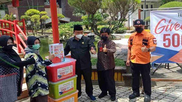 BPBD Terima Bantuan 5 Ribu Masker dan Handsanitaizer
