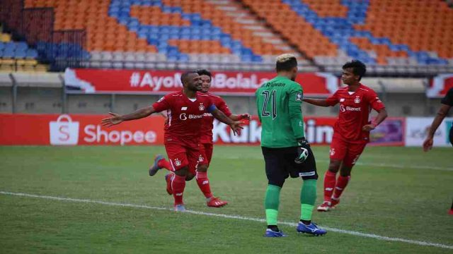 Persik Kediri Libas Madura United dengan Skor 2 - 1