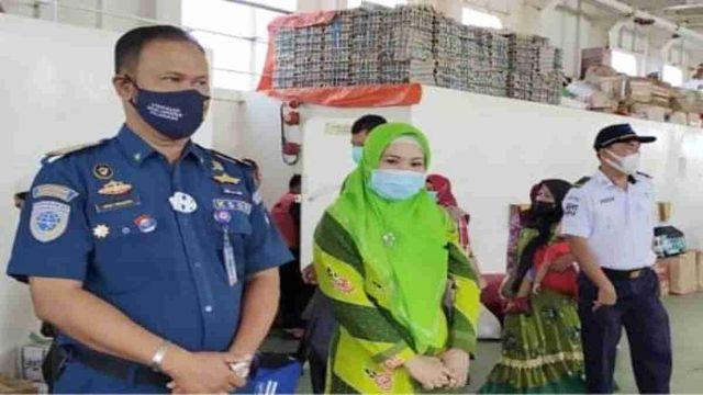 Zeiniye Pantau dan Fasilitasi Kepulangan Santri Sukorejo