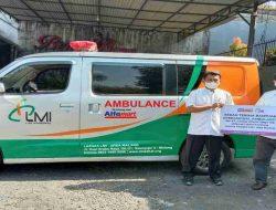 Alfamart Peduli, Bantu Biaya Operasional Mobil Ambulance LMI Area Malang