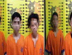 Diduga Edarkan Pil Trex, 5 Pemuda Diciduk Polisi
