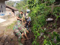 Pembangunan Drainase, Salah Satu Sasaran Pembangunan Fisik TMMD ke-112