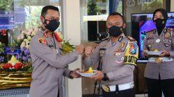 Hari Lalu Lintas Bhayangkara ke-66, Polres Malang Raya Gelar Baksos Kemanusiaan di Mapolres Batu