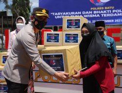 Semarak  Hari Lalu lintas ke-66 Polantas Malang Raya Gelar Vaksinasi kepada Tunawisma