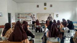 Satlantas Polres Batu Gelar Ajak Pelajar Selalu Mematuhi Prokes Covid-19