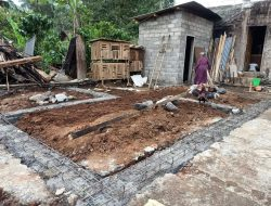 Tangis Bahagia Bu Sulastri Rumahnya Akan Dibangun Satgas TMMD ke-112