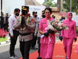 Tongkat Komando Polres Batu Kini Ditangan AKBP Nyoman