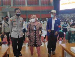 Polresta Malang Kota Sebar 2500 Vaksin untuk Pelajar Tingkat SLTA