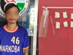 Satresnarkoba Polres Kediri Amankan Pengedar Sabu 8,73 Gram