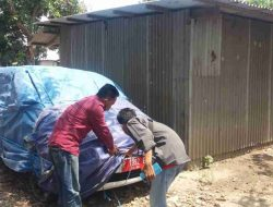 Angkut 33 Balok Kayu Ilegal, Mobil Dinas Pemdes Jatisari Diamankan Polisi