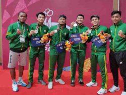 Atlet Anggar Asal Situbondo Sigy Kanadela Sumbang Medali Perak untuk Jatim