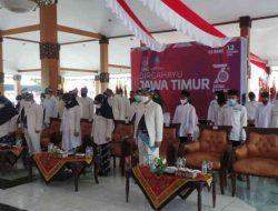 Bupati Situbondo bersama Forkopimda Hadiri Upacara Virtual Hari Jadi ke-76 Pemprov Jawa Timur