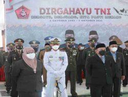 Danpuslatpurmar 5 Baluran Hadiri HUT ke-76 TNI secara Virtual