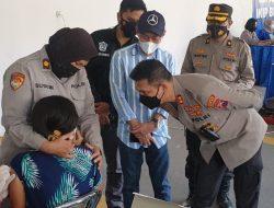 Bersama Rekan Media dan IBU, Polresta Malang Kota Gelontorkan 1.000 Vaksin