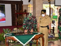 TMMD ke-112 Jajaran Korem 083/Bdj di Desa Tulungrejo Resmi Ditutup