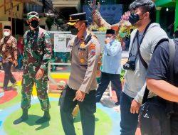 Giat Vaksinasi di Ponpes Assalam Bantur, Dapat Kunjungan Forpimda Kabupaten Malang