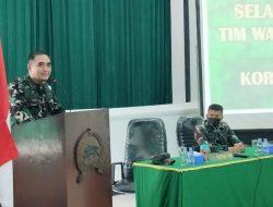 Guna Ketepatan Data dan Keterangan yang Objektif, Tim Wasrik Itjen TNI Kunjungi Korem 083/Bdj