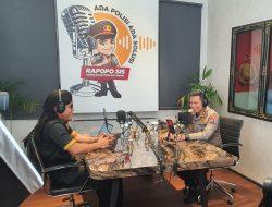 Arema Police Podcast Presisi Polresta Malang Kota, Tranformasi Polri yang Humanis
